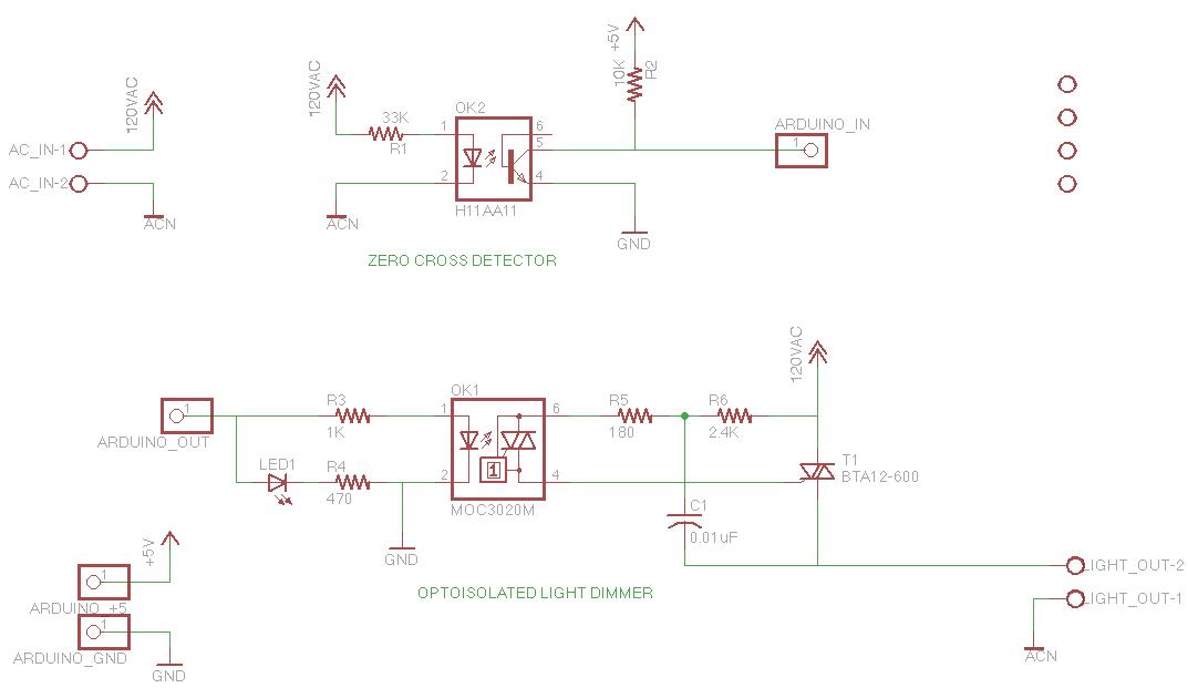 AC Dimmer Circuit | DXARTS | University of Washington