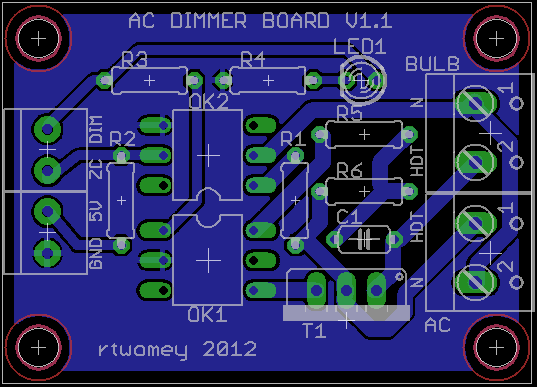 Ac Dimmer Circuit