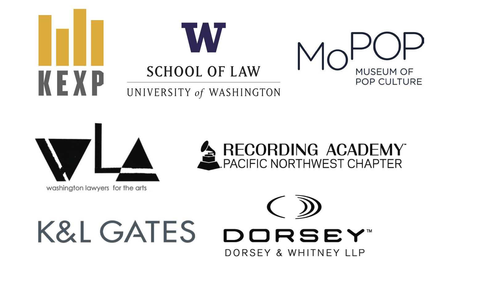 The New Music Ecosystem Conference Co-sponsors