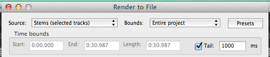Render source and bounds options