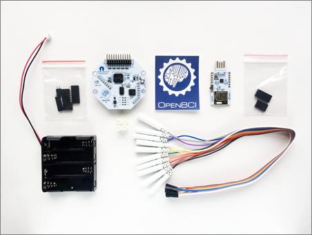 OpenBCI 16-channel EEG R&D kit | DXARTS | University of Washington