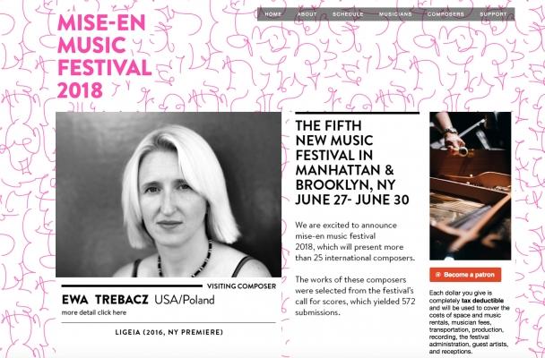 MISE-EN Music Festival 2018 | Ewa Trebacz
