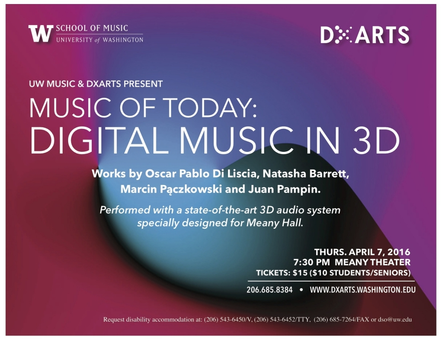 Music of Today: Digital Music in 3D