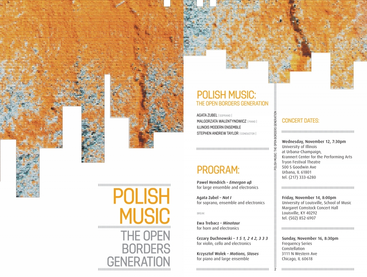 Polish Music. The Open Borders Generation.