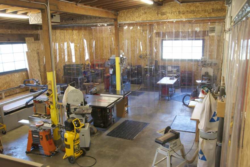 Wood Shop | DXARTS | University of Washington