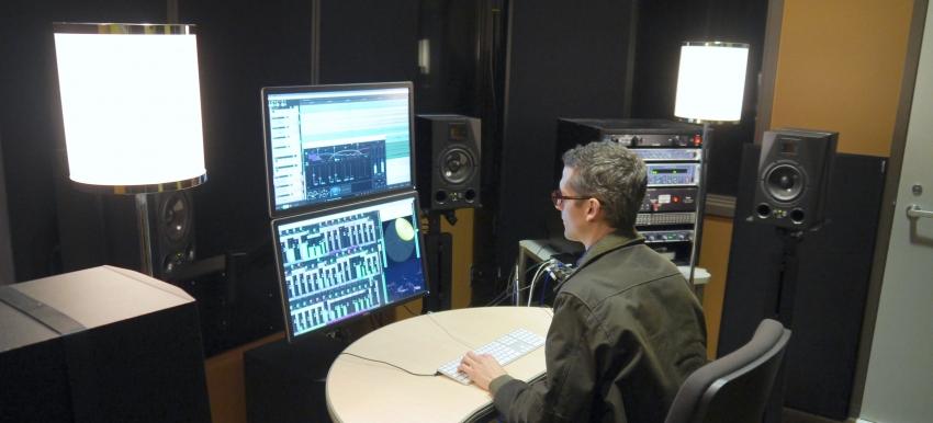 Soundlab booth