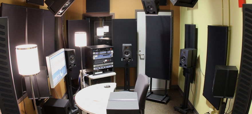 Soundlab booth