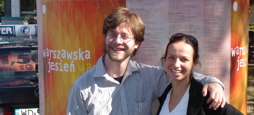ERRAI soloists, Anna Niedzwiedz, Josiah Boothby, Warsaw Autumn 2009