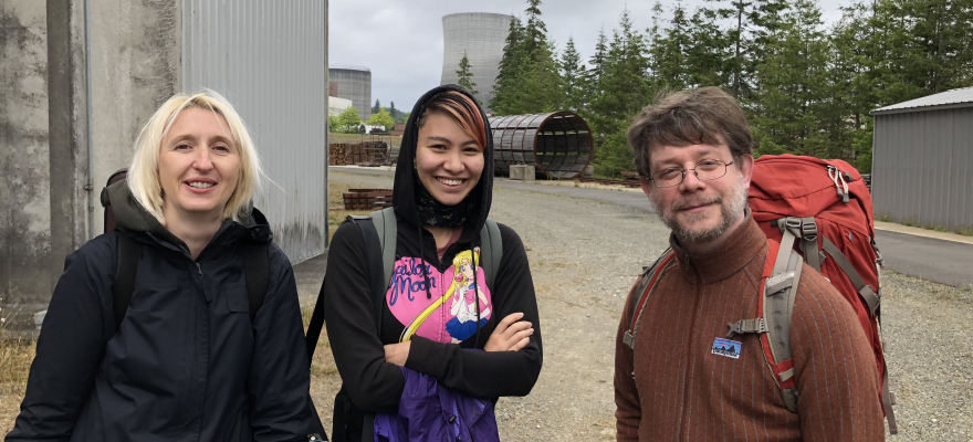 Satsop Abandoned Nuclear Plant | Ewa Trębacz, Leanna Keith, Josiah Boothby
