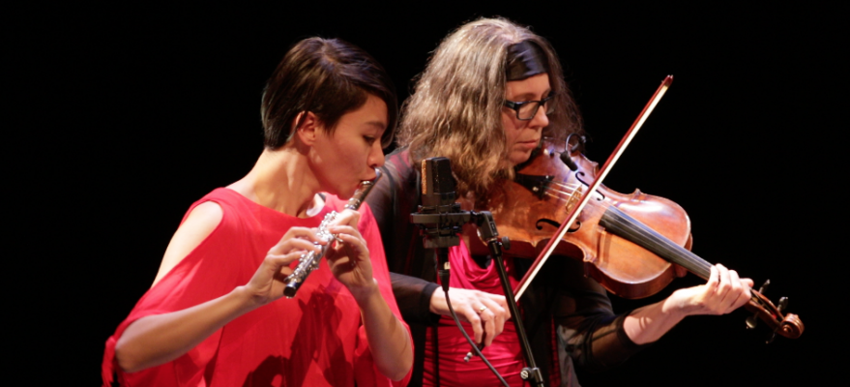 """Inanna Descending"", premiere | Leanna Keith, flute | Heather Bentley, viola"