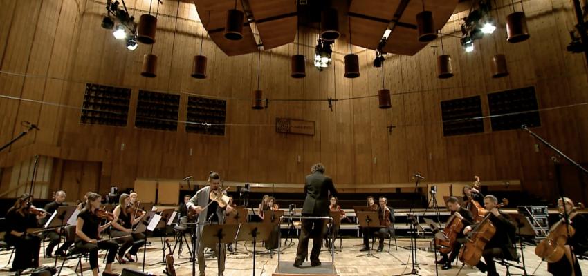 NFM Leopoldinum Orchestra, Christian Danowicz - conductor, Adam Bałdych - violin | Photo credit: WARSAW AUTUMN