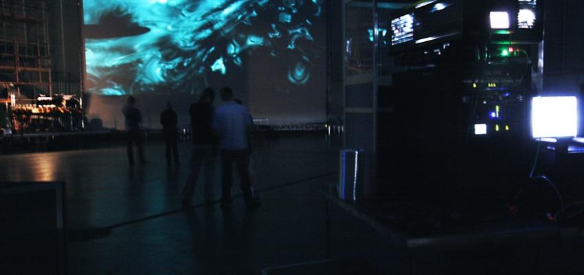 Errai, by Ewa Trębacz   Rehearsal, Warsaw Autumn Festival 2009