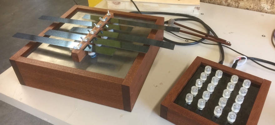 Naga is a electric metallophone instrument