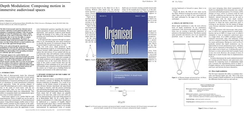 Organised Sound 17.2 (2012)