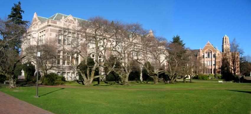 Raitt Hall from the UW Quad