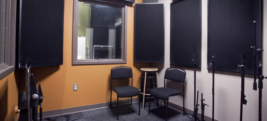 DXARTS Sound Lab Isolation Booth