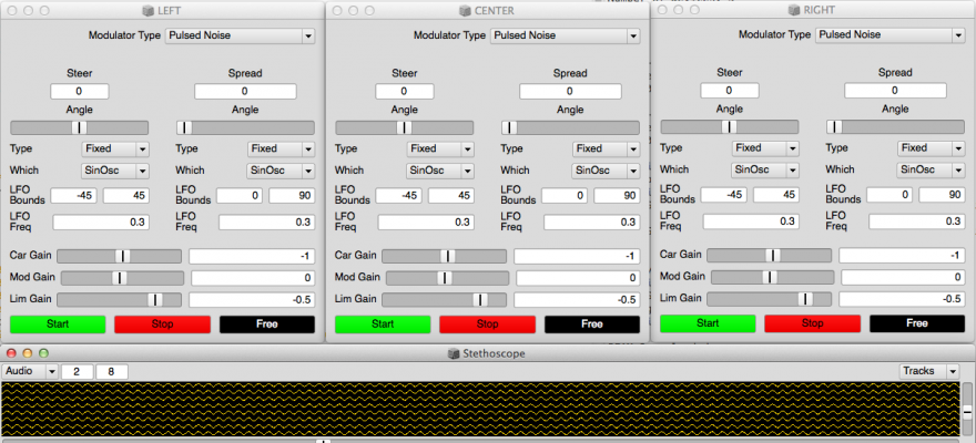 Software tools for beam manipulation.