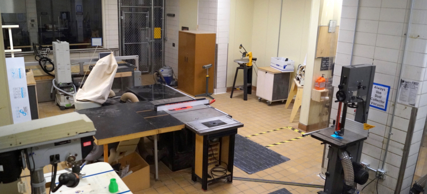 DXARTS FabLab: Wood Shop
