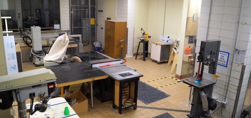 DXARTS FabLab: Wood Shop