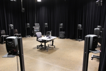 DXARTS Media Lab speaker layout