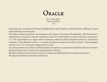 Oracle Score