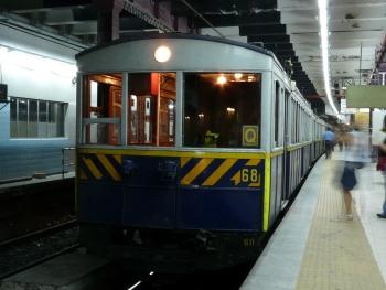 A Line: original 1913 car of subway line A, Buenos Aires