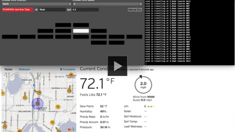 Vimeo link to sequencer for realtime wind data