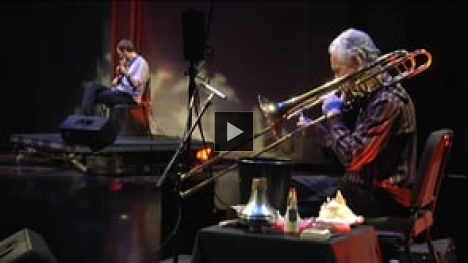 Vimeo link to DXARTS Spring Concert 2014: Experimental Improvised Music in 3D