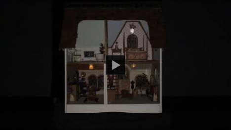 YouTube link to She Herself is a Haunted House a dollhouse sound installation by Breana Tavaglione CalArts WaveCave